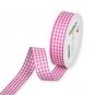 Vichy-Karoband, Farbe: Pink