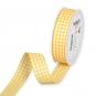 Vichy-Karoband, Farbe: Gelb