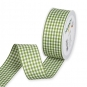 Vichy-Karoband, Farbe: Moosgrün