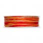 Kordel Materialmix, Farbe: Orange/Rot/Natur