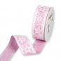 """Druckband """"Blüten"""", Farbe: Pink/Weiß"""