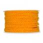 Kordel matt, meliert, Farbe: orange/gelb