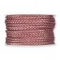 Kordel, Farbe: Altrosa (125)