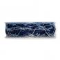 Rosenlitze, Farbe: blau/silber