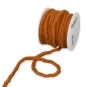 Wollschnur, Farbe: Orangebraun