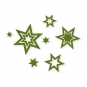 "Filz-Sortiment ""Sterne"", Farbe: grün"