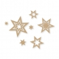 "Filz-Sortiment ""Sterne"", Farbe: beige"