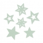 Filzsortiment Sterne, Farbe: pastellmint