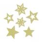 Filzsortiment Sterne, Farbe: pastellgrün