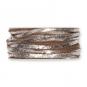 Filzband mit Metallic-Foliendruck, Farbe: hellbraun/silber