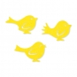 """Filzsortiment """"Vögel"""", Farbe: gelb"""