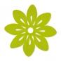 """Filz-Tischset """"Blüte"""", Farbe: grün"""