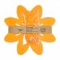 """Tischdeko-Set """"Blüten"""", Farbe: orange"""
