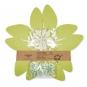 """Tischdeko-Set """"Blüten"""", Farbe: pastellgrün/creme/pastellmint"""