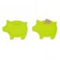 Moneten-Schwein, Farbe: grün