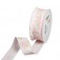 "Druckband ""Rosen"", Farbe: Pastellrosa/Pink/Grün"