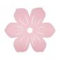 """Filz-Deko """"Blüte"""", Farbe: Pastellrosa"""