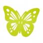 "Filz-Deko ""Schmetterling"", Farbe: Frühlingsgrün"