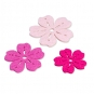 """Filzsortiment """"Blüten"""", Farbe: Pink/Rosa/Pastellrosa"""