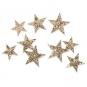 "Glitter Streusort.""Sterne"", Farbe: Gold"