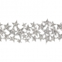 "Glitterband ""Sterne"", Farbe: Silber"