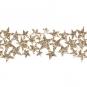 "Glitterband ""Sterne"", Farbe: Gold"