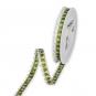 """Dekorationsband """"Wichtel"""", Farbe: grün/sand/weiß"""