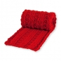 Deko-Strickband, Farbe: rot