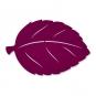 "Filz-Deko ""Herbstblatt"", Farbe: Purple"