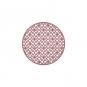 "Filz-Tischdeko ""Ornament"", Farbe: Altrosa"