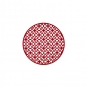 "Filz-Tischdeko ""Ornament"", Farbe: Ruby"