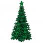 """Deko-Aufsteller """"Baum"""", Farbe: Tannengrün/Smaragdgrün"""