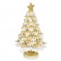 """Deko-Aufsteller """"Baum"""", Farbe: Creme/Gold"""
