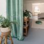 Samt-Vorhang ca. 135x245cm, Farbe: Mint