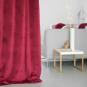 Samt-Vorhang ca. 135x245cm, Farbe: Beere
