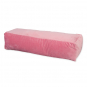 Samtkissen/Nackenrolle, Farbe: rosa