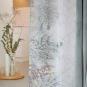 """Vorhang """"Digital-Motivdruck"""", Farbe: Salbeigrün/Hellgrau"""