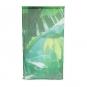 Voile Vorhang Digitaldruck, Farbe: Hellgrün/Gelb