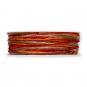 Kordel Materialmix, Farbe: Rot/Orange