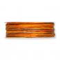 Kordel Materialmix, Farbe: Orange/Braun