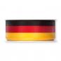 Nationalband, Farbe: Schwarz/Rot/Gold