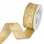 Standard Drahtkantenband, Farbe: Honiggelb (313)