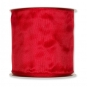 Standard Drahtkantenband, Farbe: Rot (77)