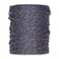 Papierkordel, 2-farbig, Farbe: blau/hellbraun