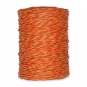 Papierkordel, 2-farbig, Farbe: orange/caramel