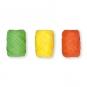 Papier-Raffia-Set 3 x 10 m, Farbe: orange/gelb/grün