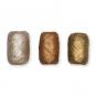 Metallic-Papier-Raffia Set 3 x 10 Meter, Farbe: champagner/braun/gold