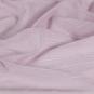 Transparenter Dekostoff - Meterware, Farbe: pastellrosa