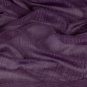 Transparenter Dekostoff - Meterware, Farbe: violet