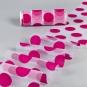 """Organza mit Flockdruck """"Punkte"""", Farbe: pink"""